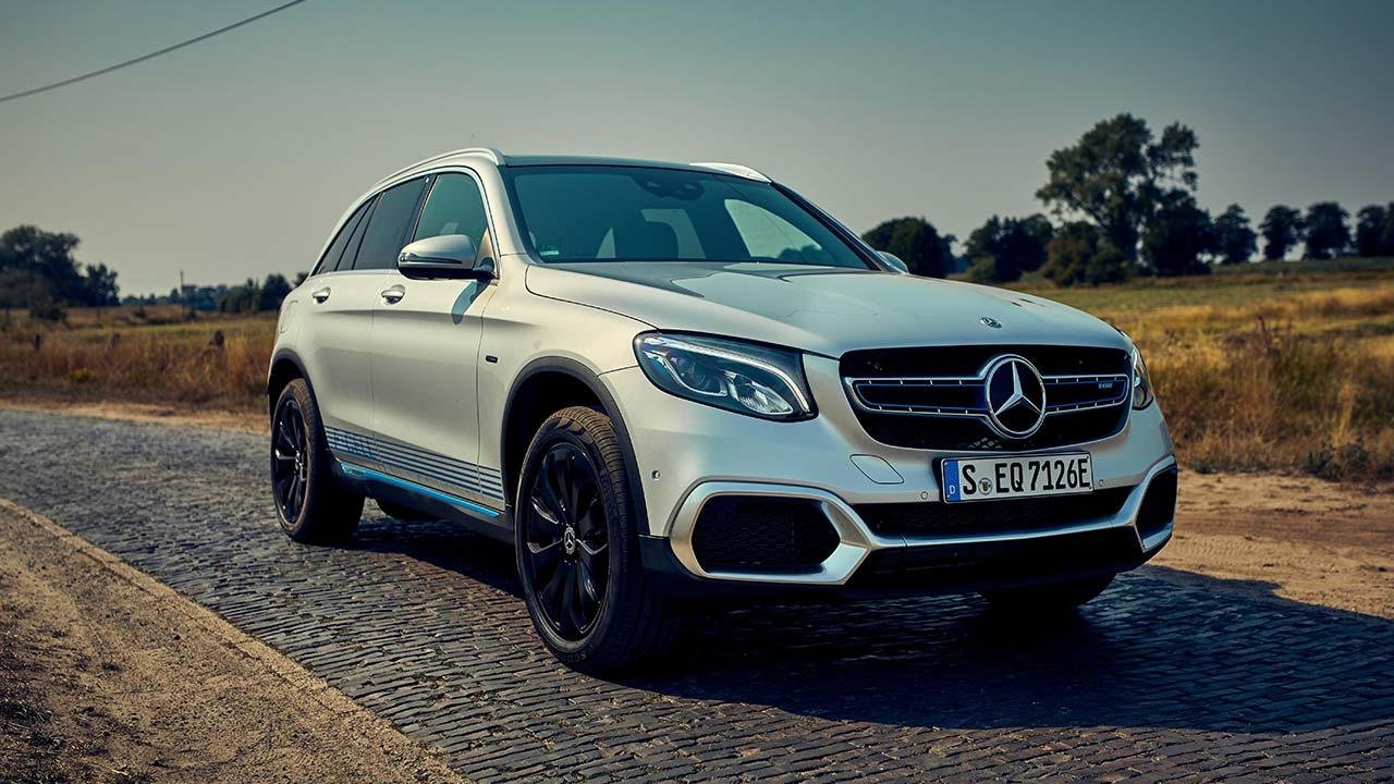 Mercedes-Benz GLC F-Cell - in voller Fahrt