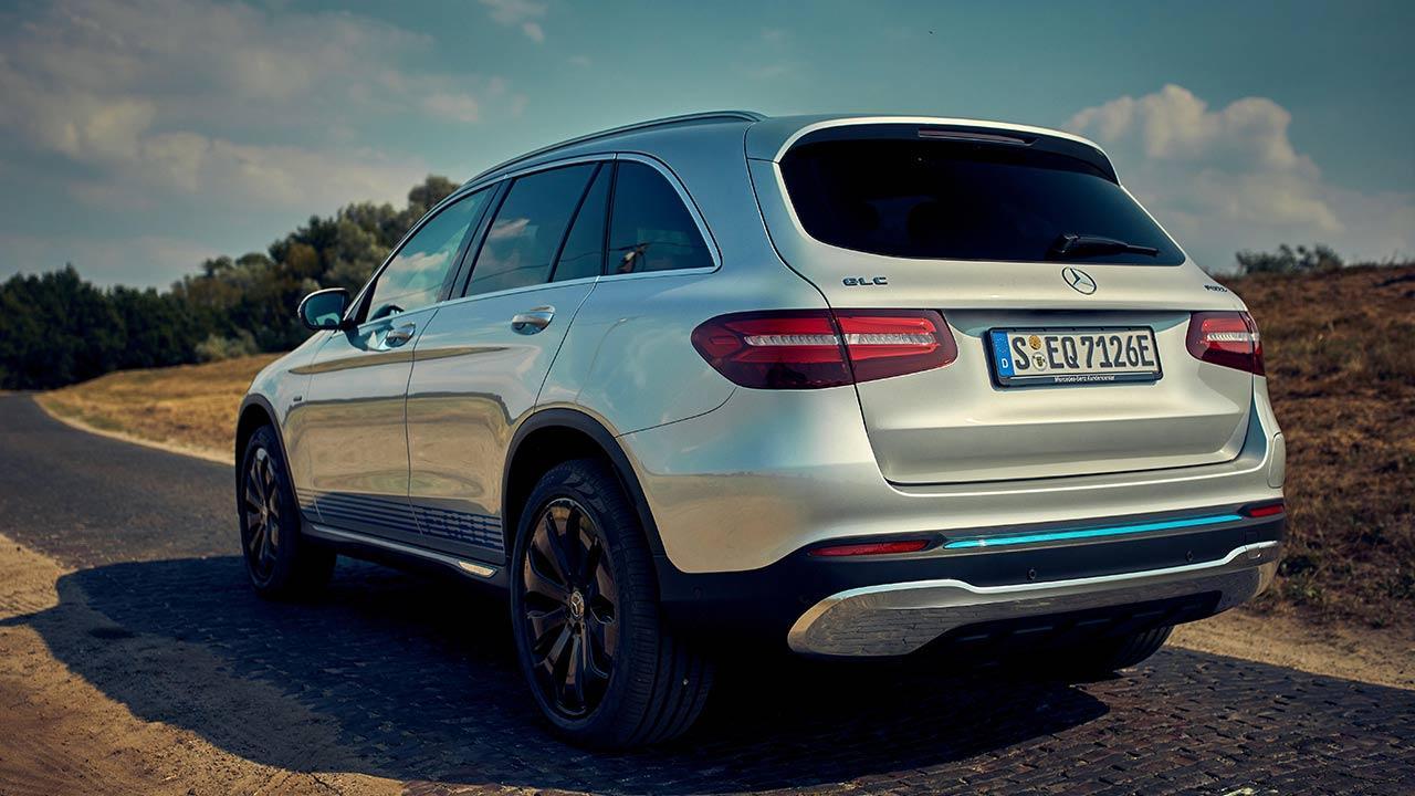 Mercedes-Benz GLC F-Cell - Heckansicht