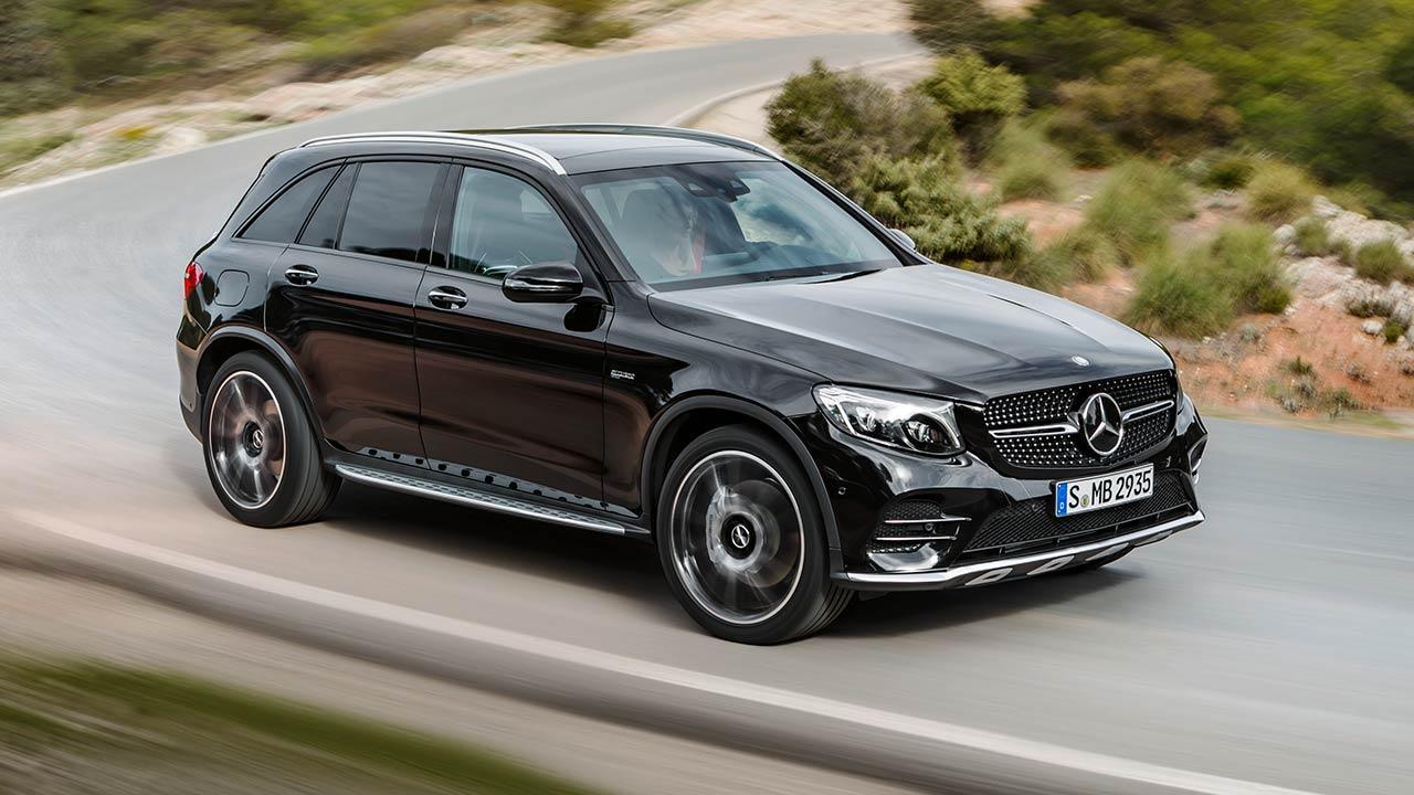 Mercedes-AMG GLC 43 4MATIC SUV - Seitenansicht