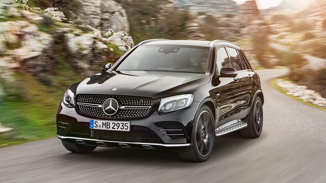 Mercedes-AMG GLC 43 4MATIC SUV - Frontansicht