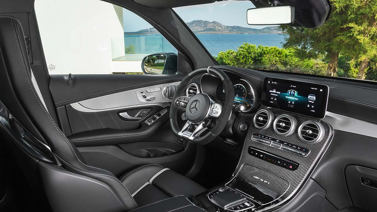 Mercedes-AMG GLC 63 4MATIC+ SUV - Cockpit