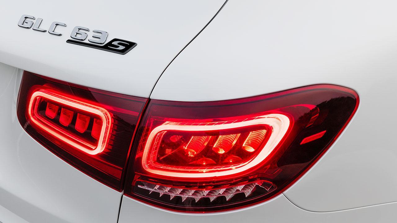 Mercedes-AMG GLC 63 S 4MATIC+ SUV - Schriftzug