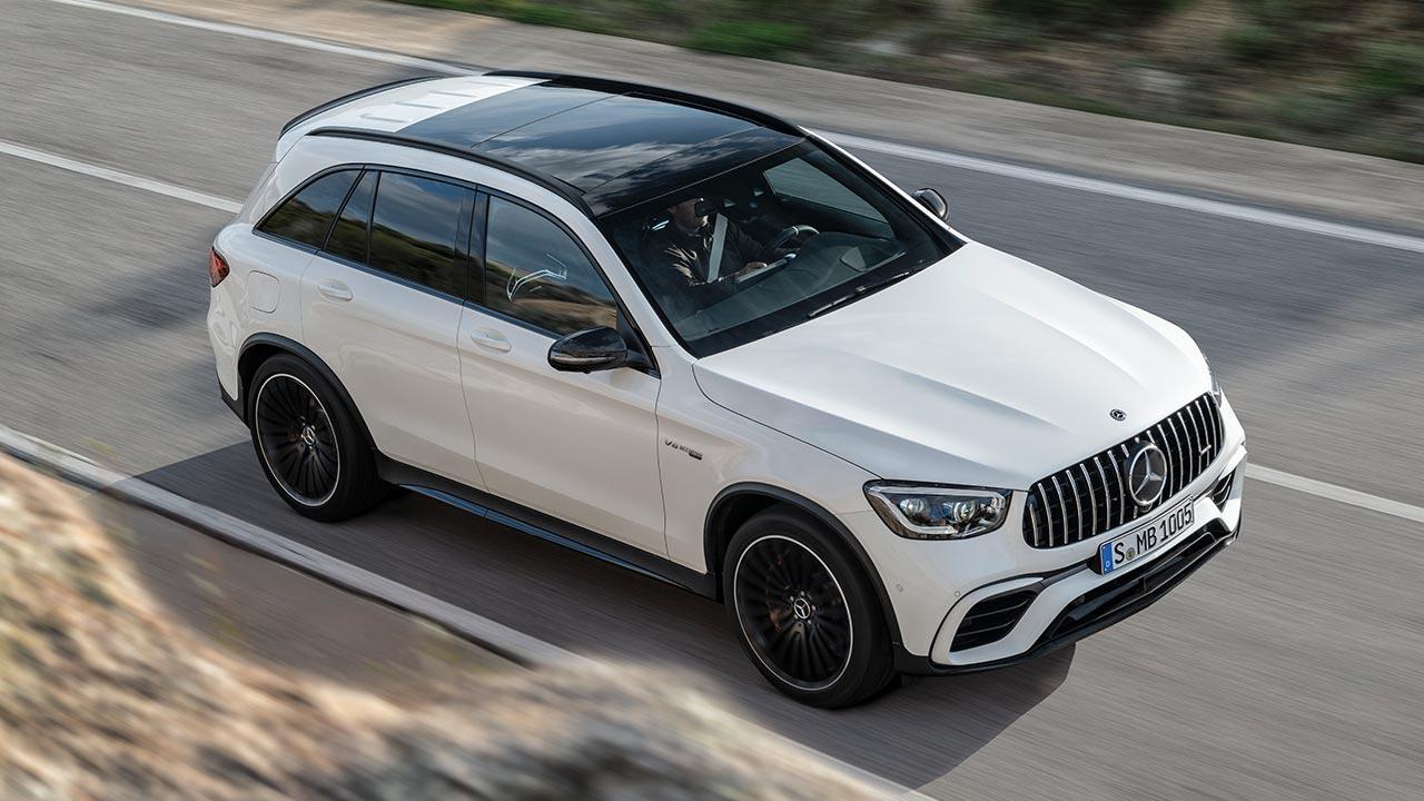 Mercedes-AMG GLC 63 S 4MATIC+ SUV - Vogelperspektive