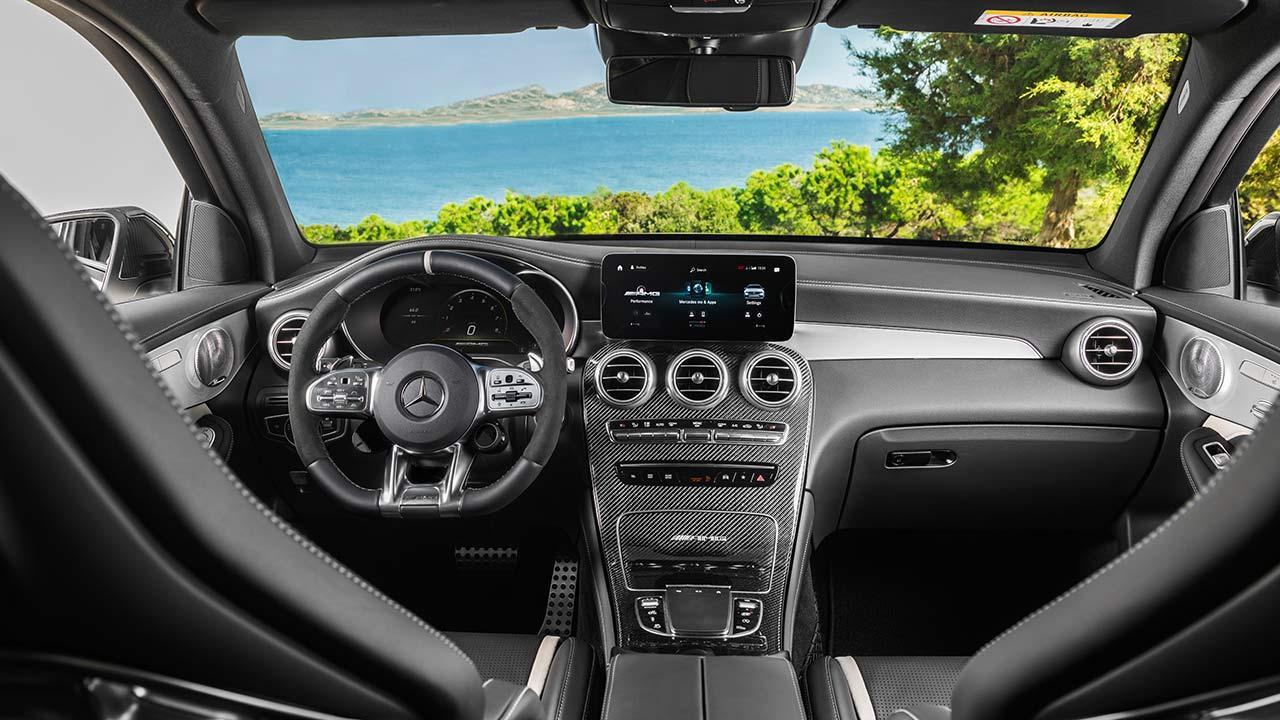 Mercedes-AMG GLC 63 S 4MATIC+ SUV - Blick von hinten