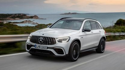 Mercedes-AMG GLC 63 S 4MATIC+ SUV - am Meer