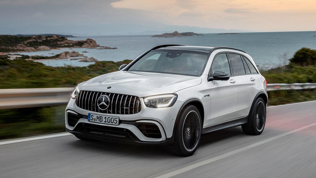 Mercedes-AMG GLC 63 S 4MATIC+ SUV - am Meer