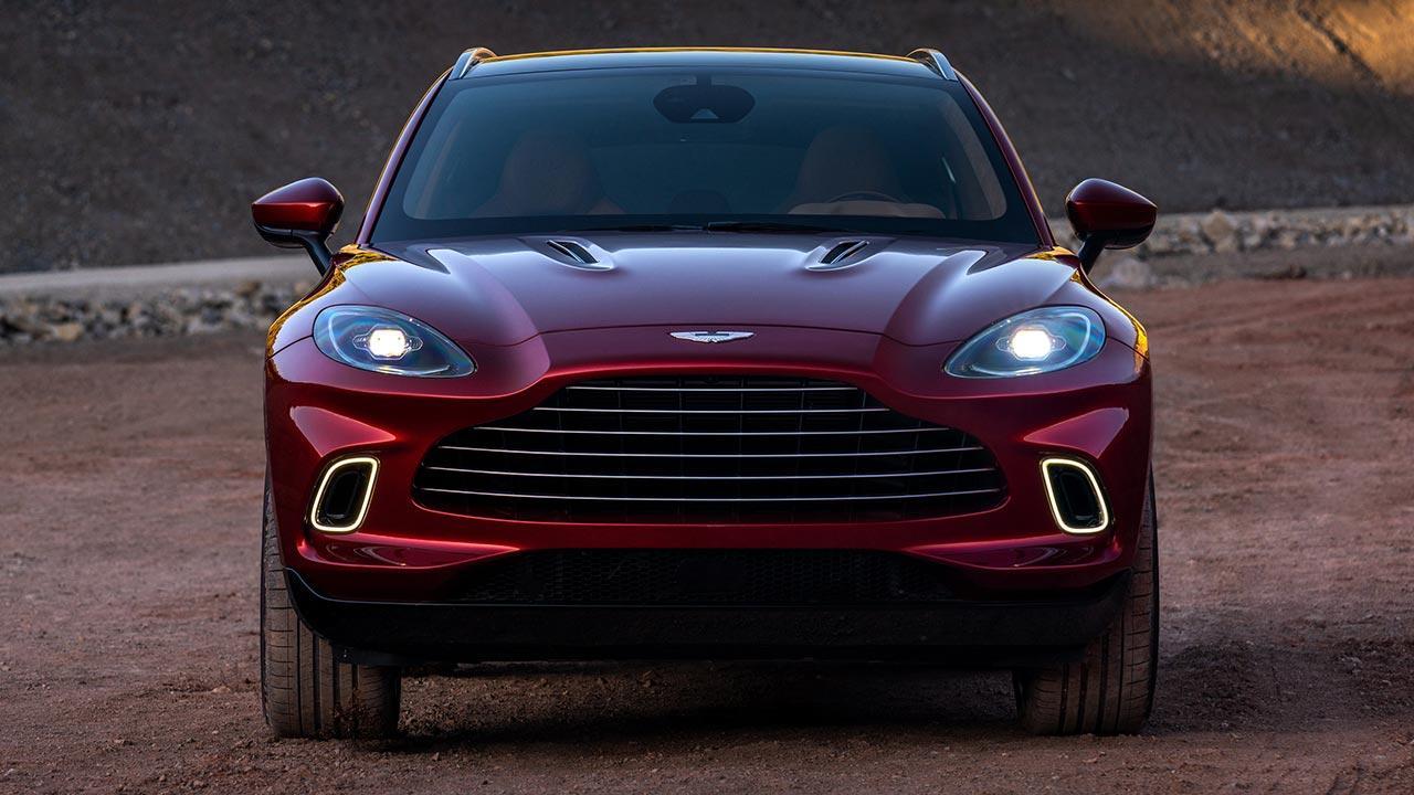 Aston Martin DBX - Frontansicht