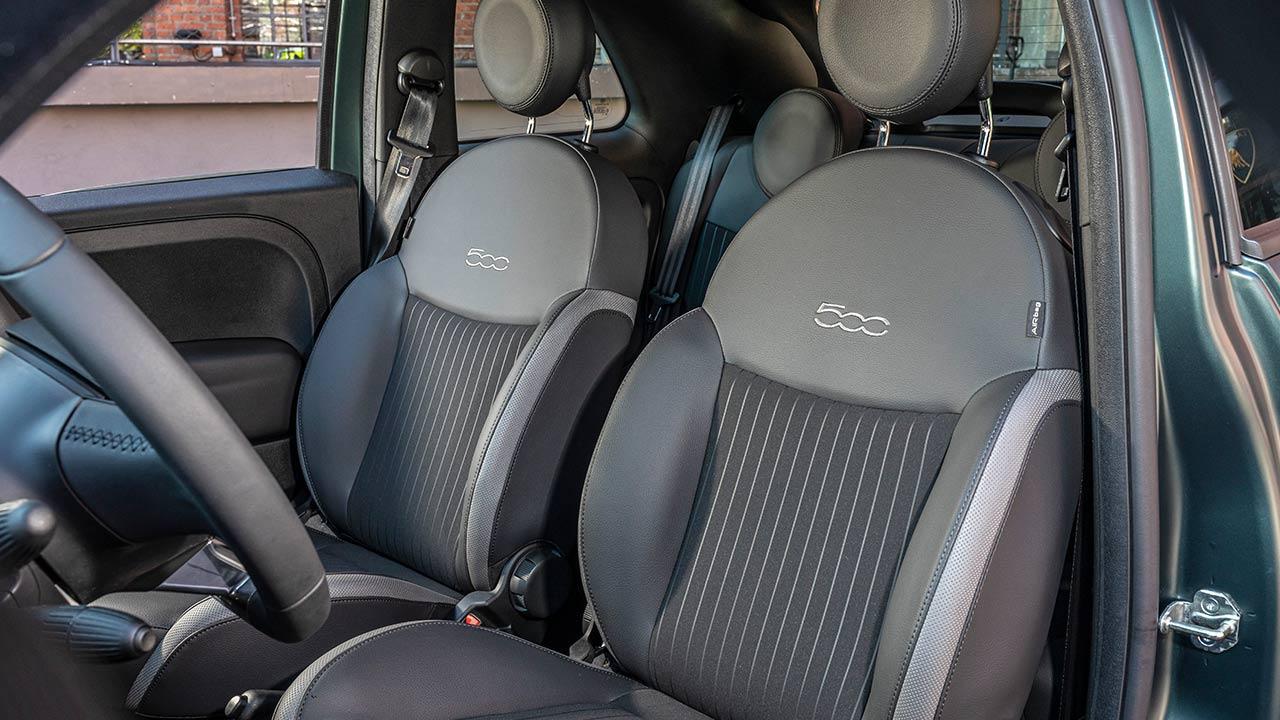 Fiat 500C - Vordersitze