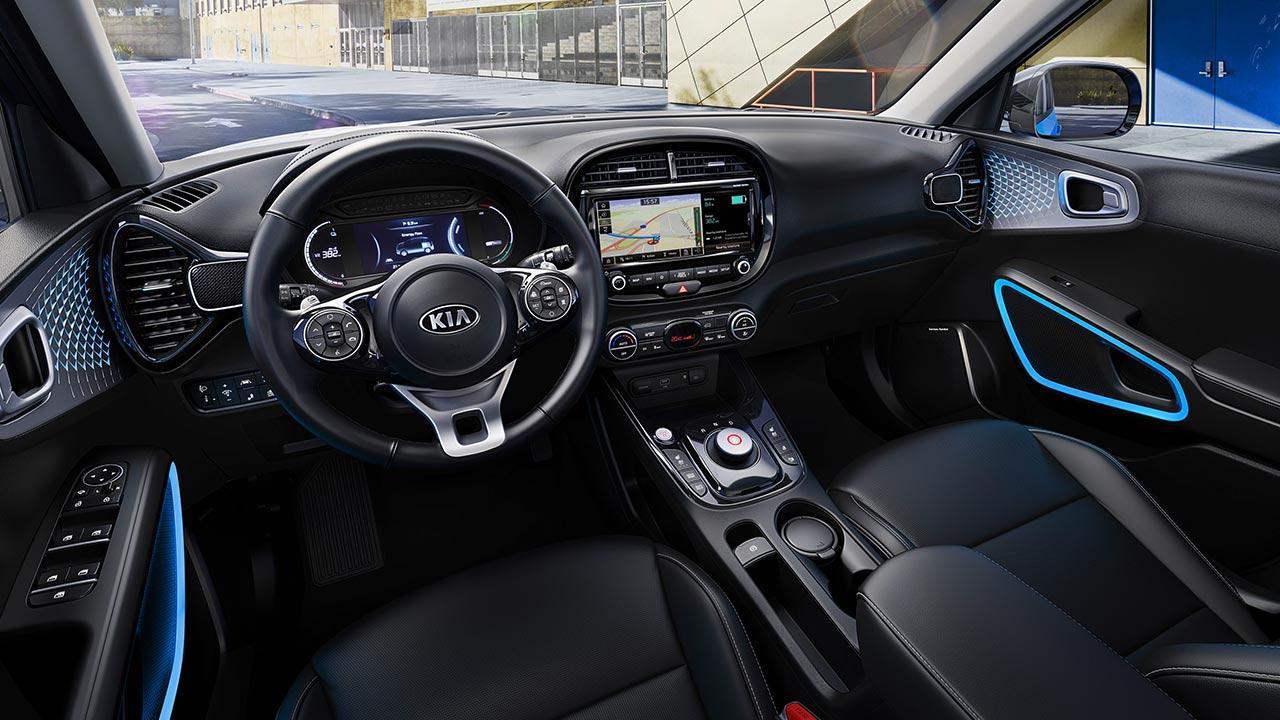 Kia e-Soul - Cockpit