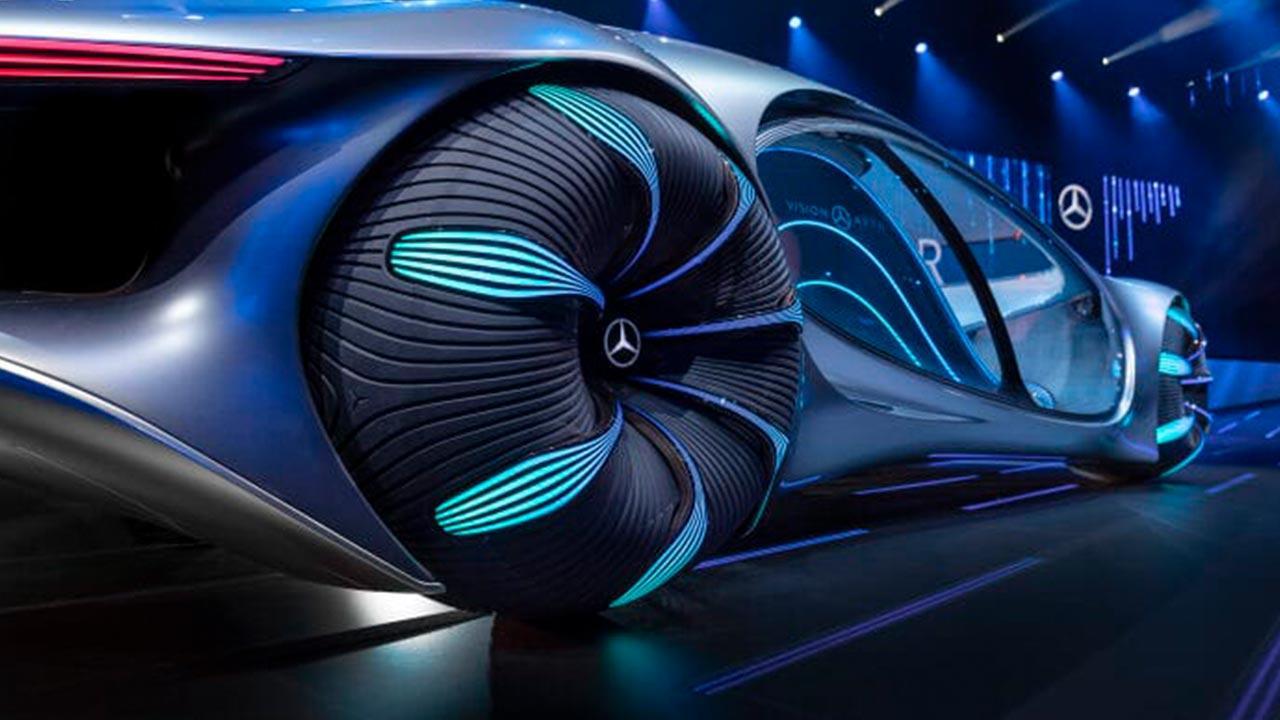 Mercedes Benz Vision AVTR - gewaltige Reifen