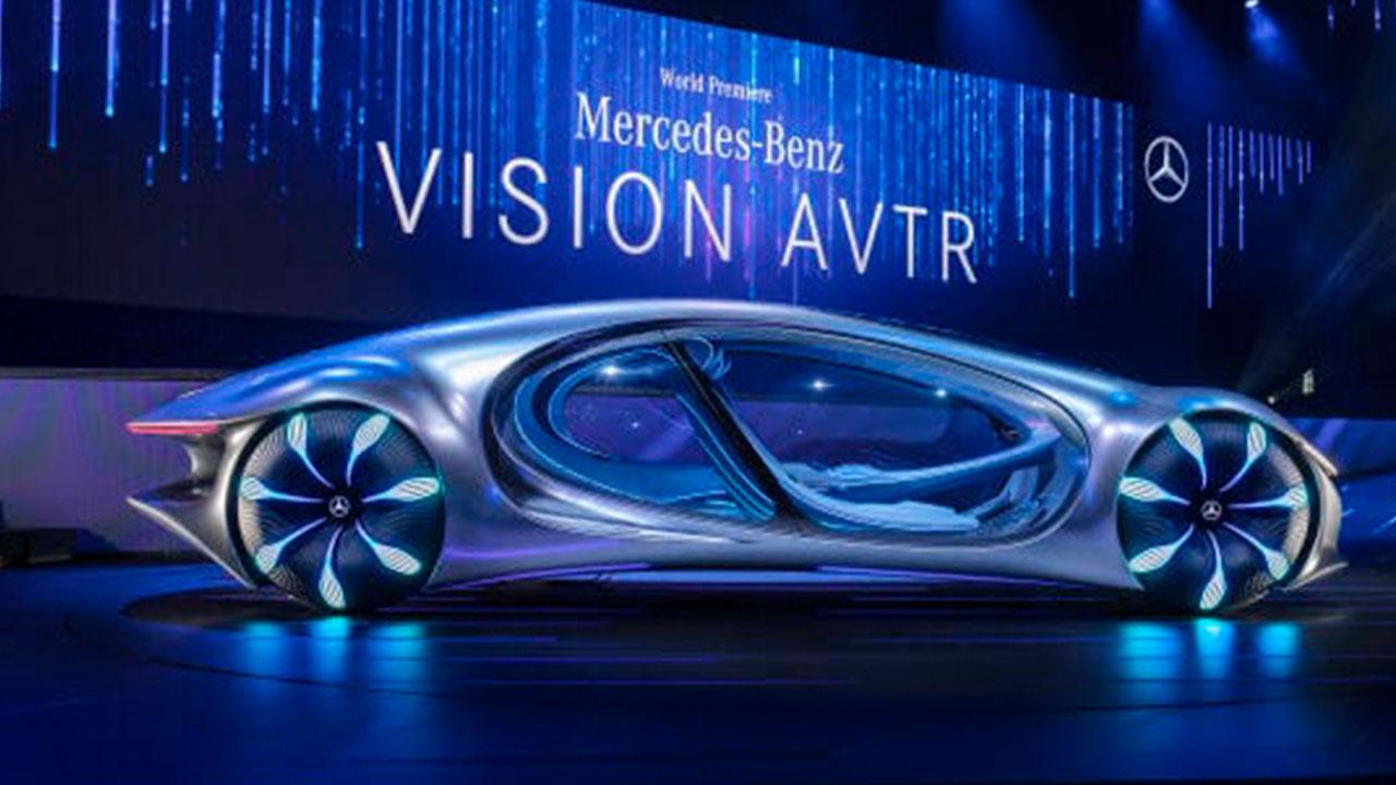 Mercedes Benz Vision AVTR - auf der Bühne