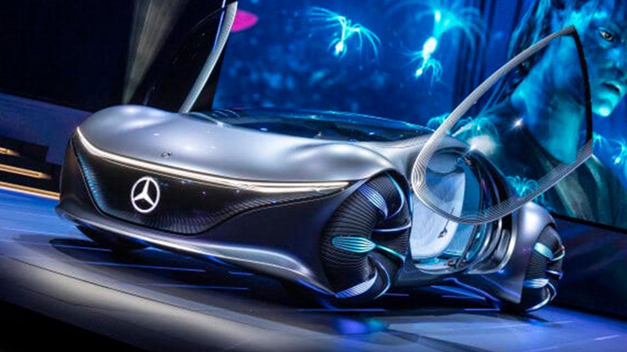 Mercedes Benz Vision AVTR - offene Türen