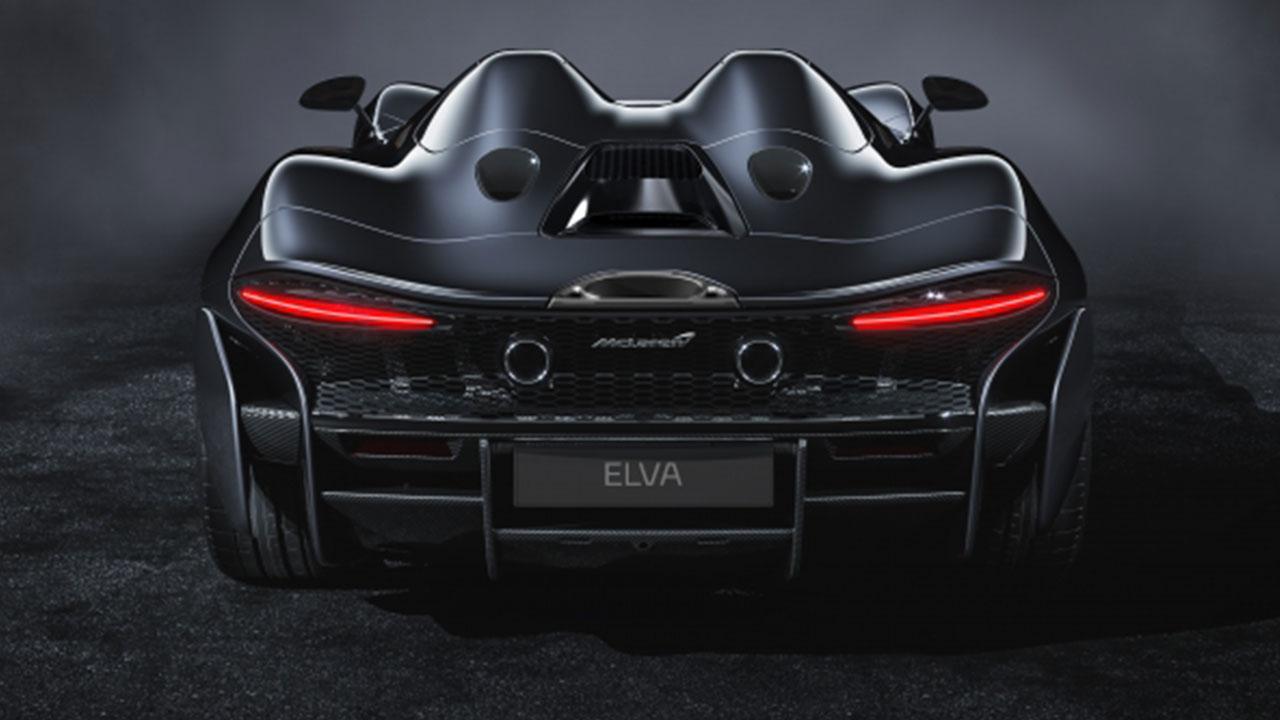 McLaren Elva - Heckansicht