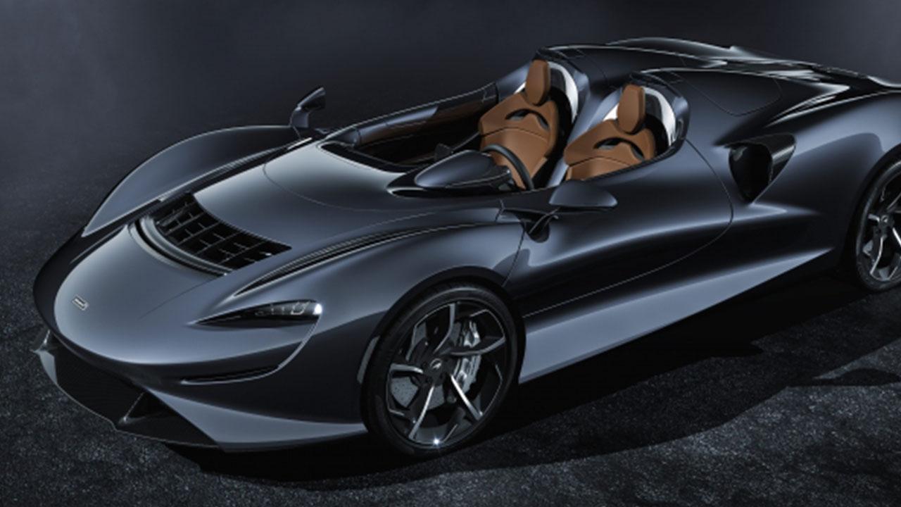 McLaren Elva - von oben
