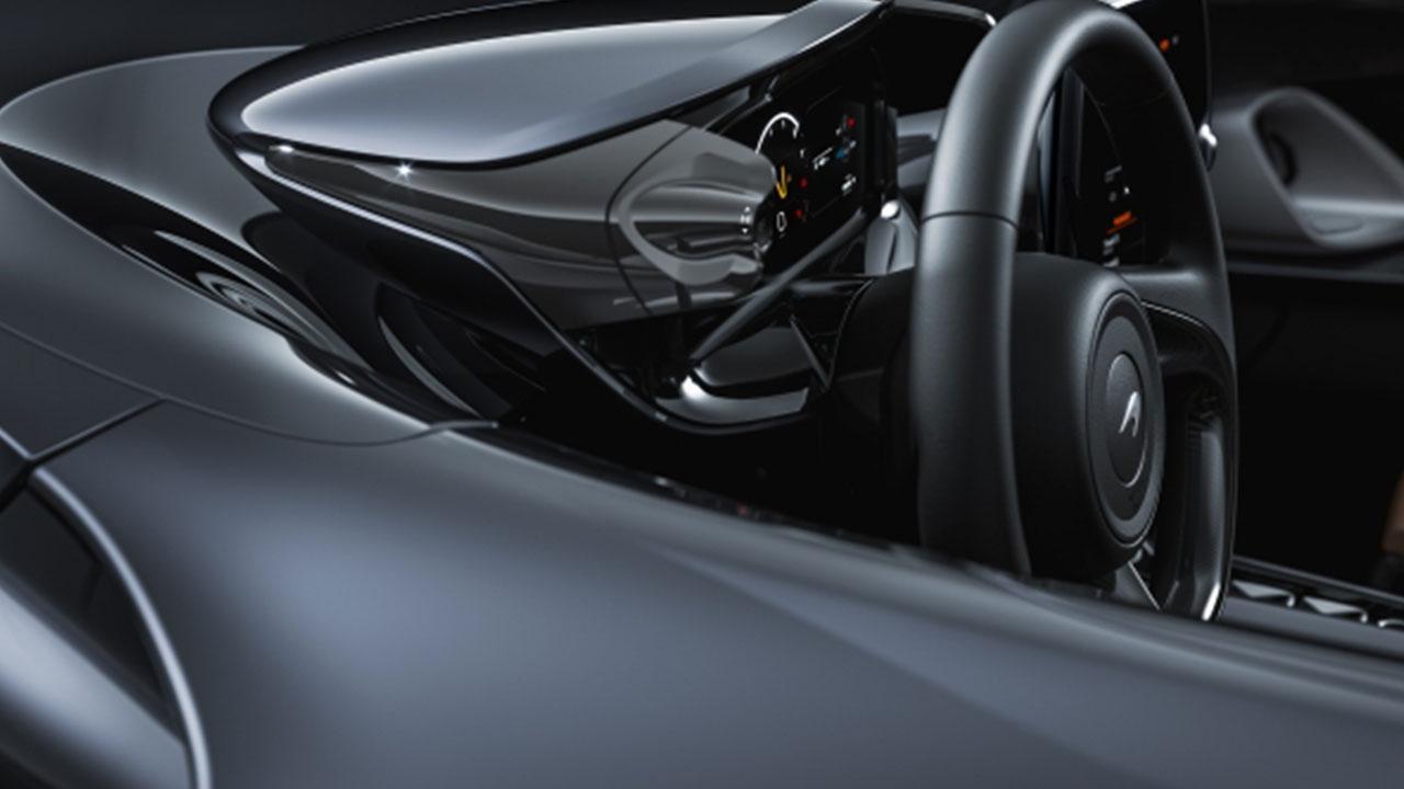 McLaren Elva - Lenkrad