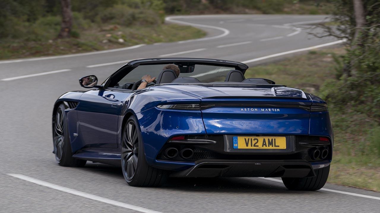 Aston Martin DBS Superleggera Volante - Heckansicht