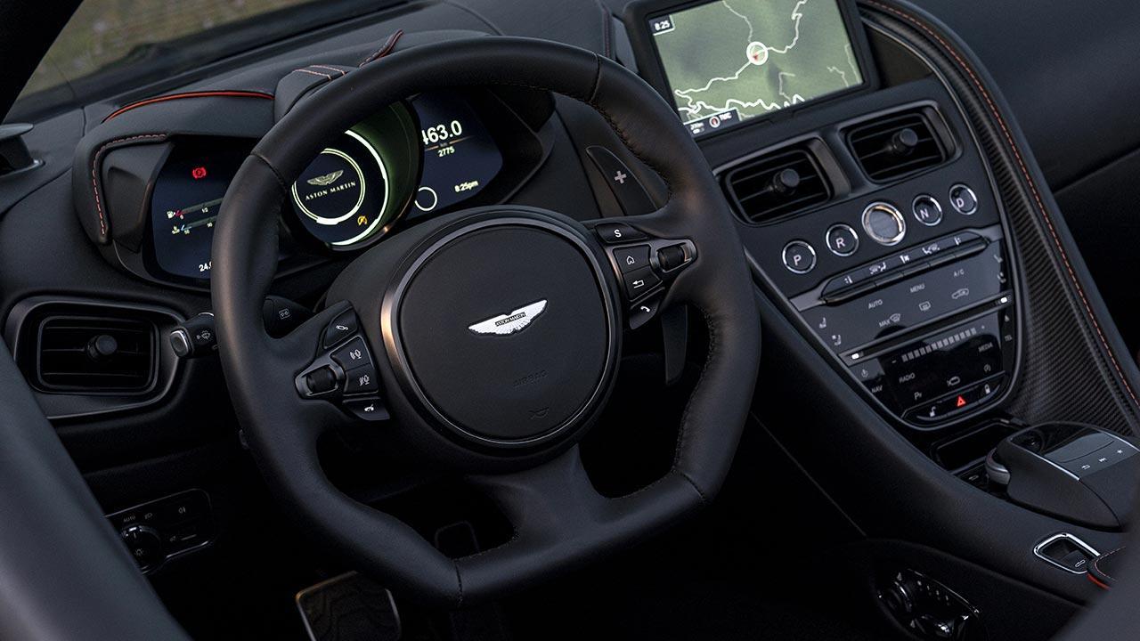 Aston Martin DBS Superleggera Volante - Lenkrad