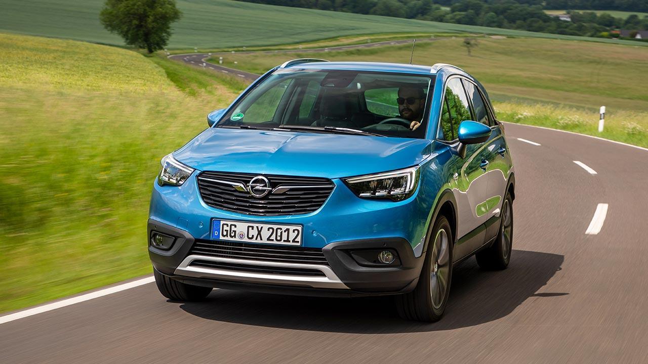Opel Crossland X - Frontansicht