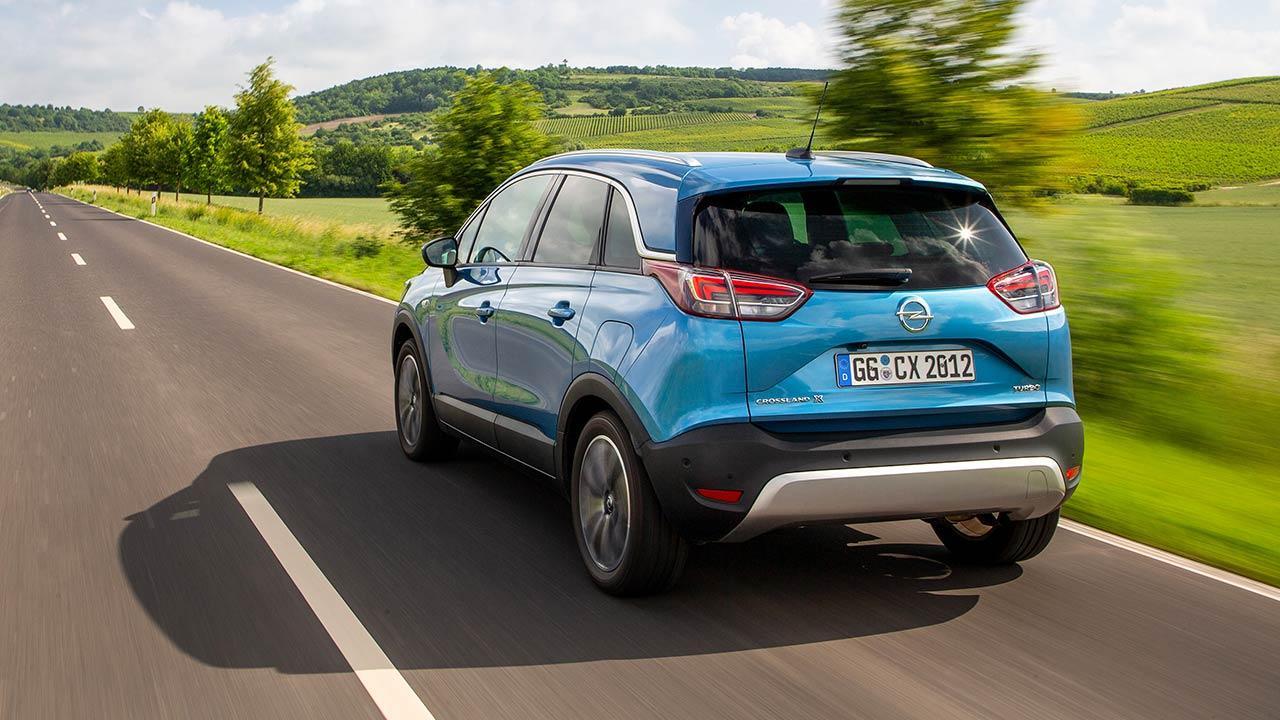 Opel Crossland X - Heckansicht
