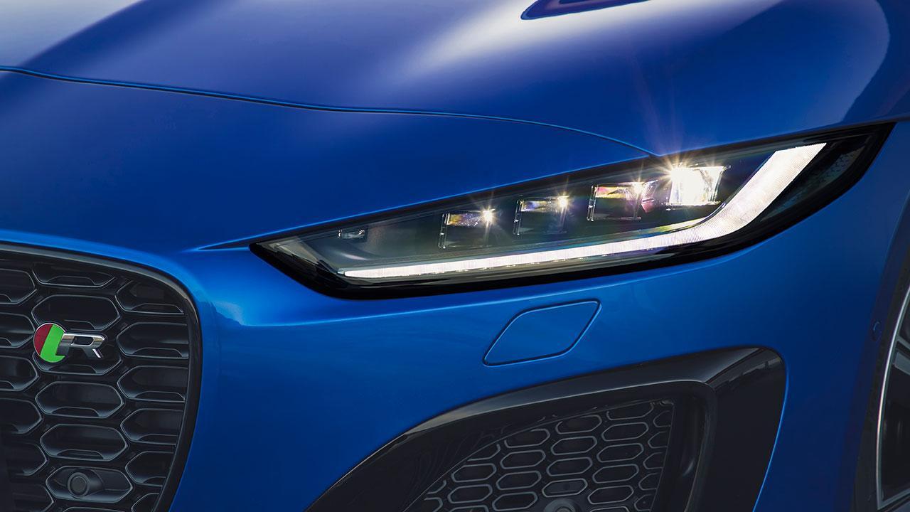 Jaguar F-Type R Coupe - Scheinwerfer