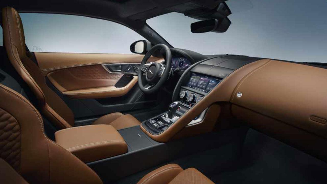 Jaguar F-Type R Coupe - Cockpit