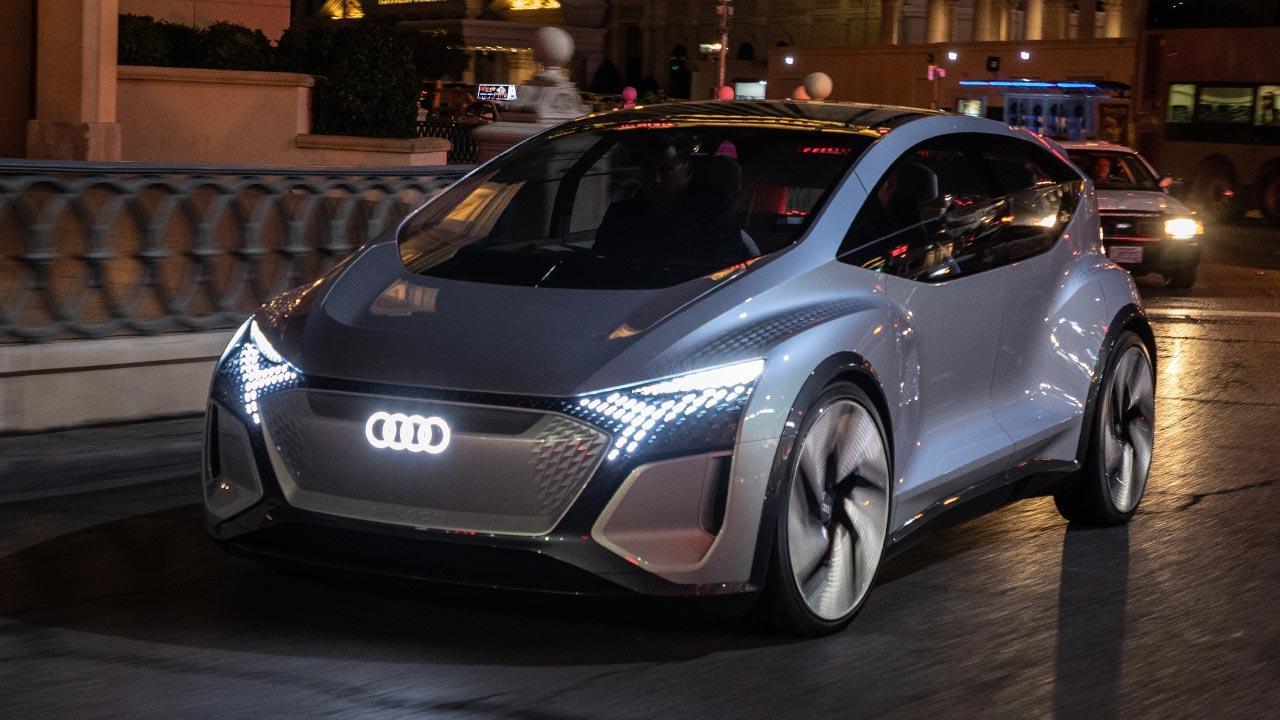 Audi AI:ME - in voller Fahrt