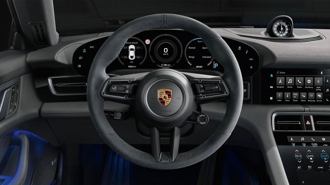 Porsche Taycan 4S - Lenkrad