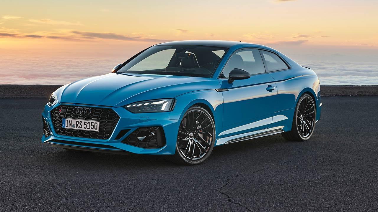 Audi RS 5 Coupé  - am Strand