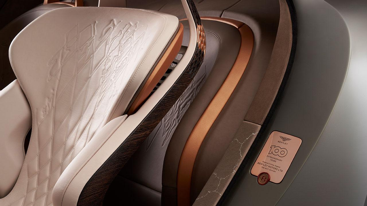 Bentley EXP 100 GT - Vordersitz