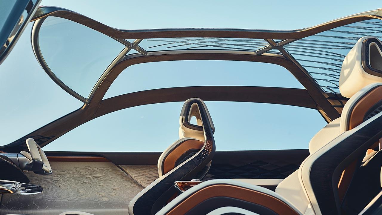 Bentley EXP 100 GT - Glasdach