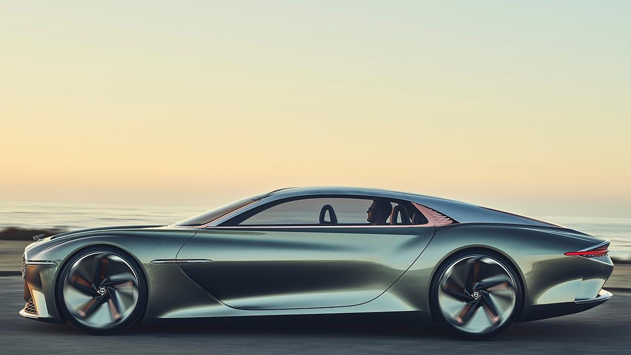 Bentley EXP 100 GT - Seitenansicht