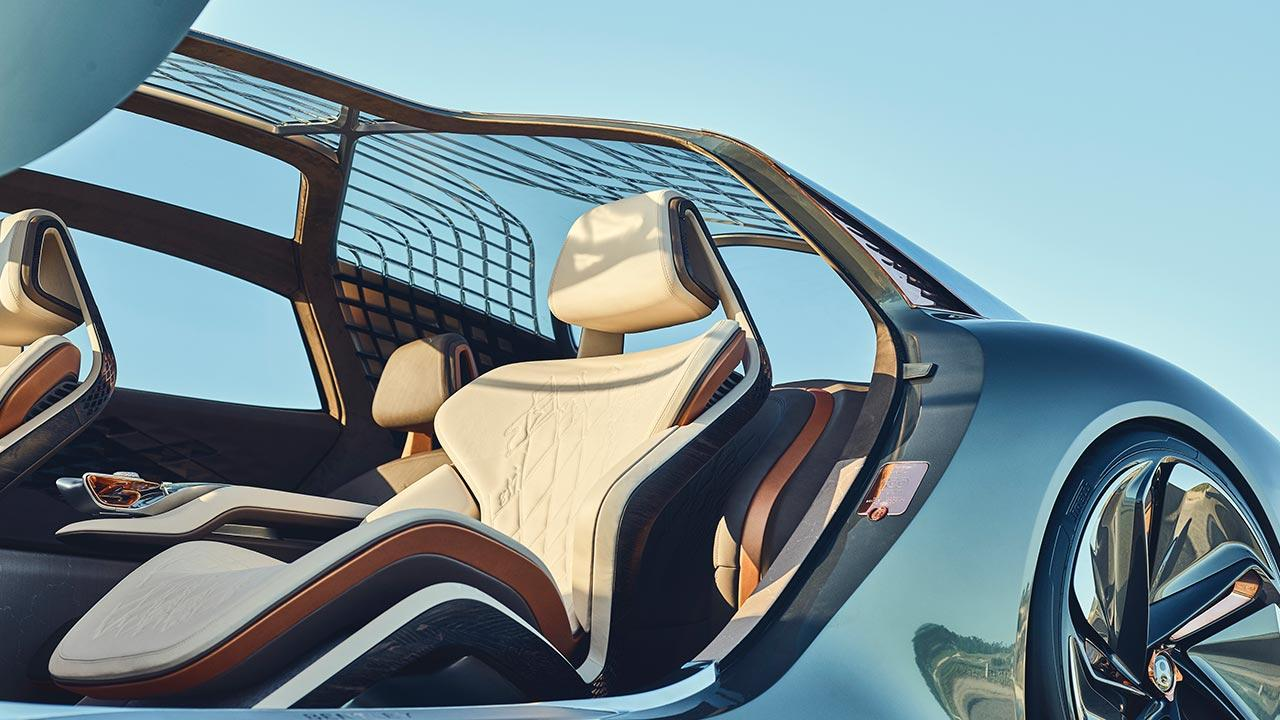 Bentley EXP 100 GT - Vordersitz mit Glasdach