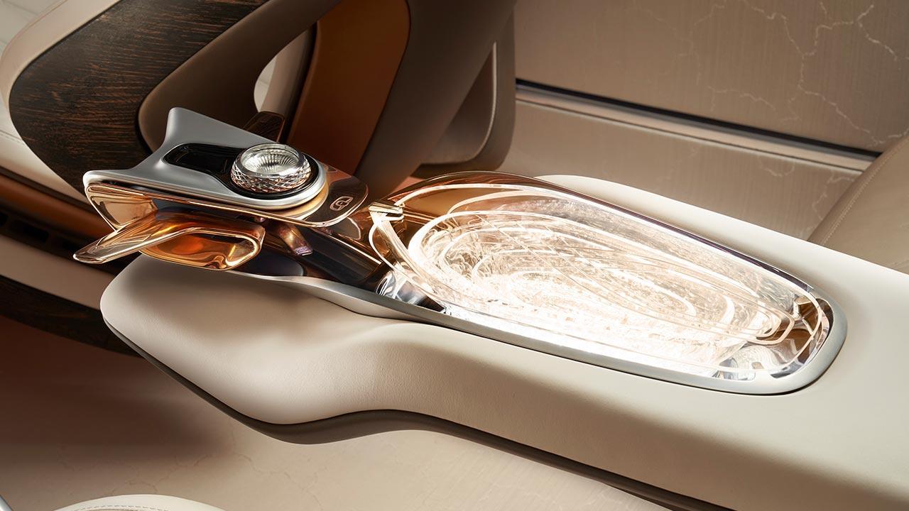 Bentley EXP 100 GT - Mittelkonsole