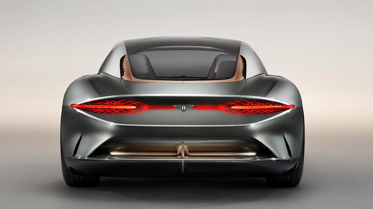Bentley EXP 100 GT - Heckansicht