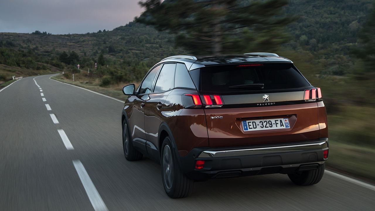 Peugeot 3008 - Heckansicht