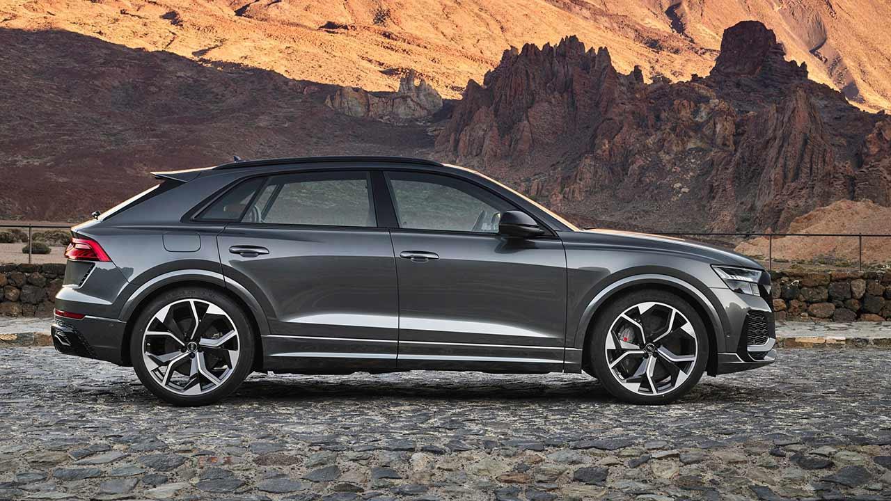 Audi RS Q8 - Seitenansicht