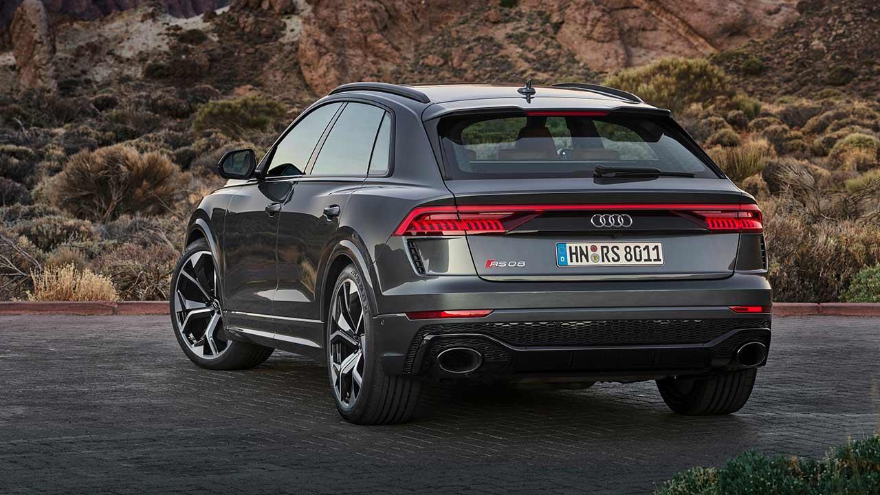 Audi RS Q8 - Heckansicht