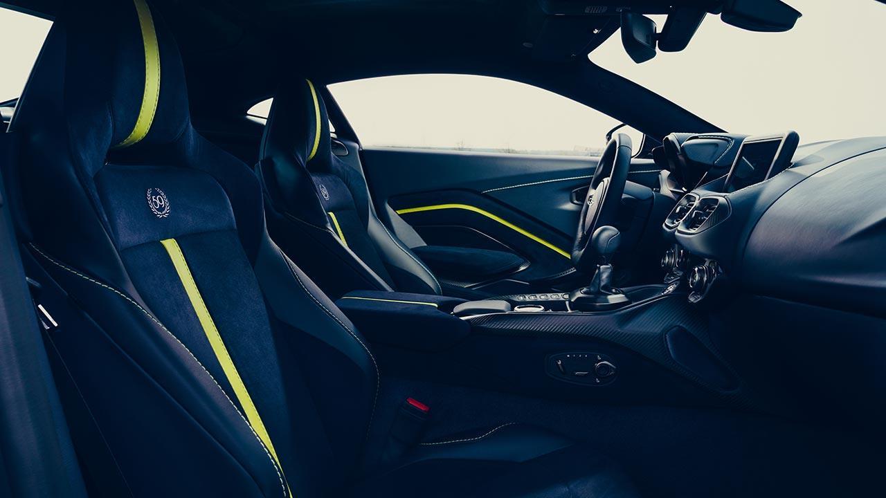 Aston Martin Vantage AMR - Cockpit