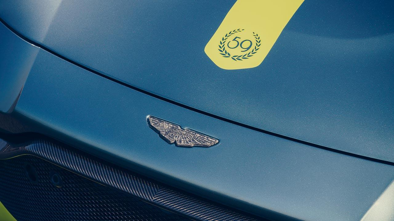 Aston Martin Vantage AMR - Emblem