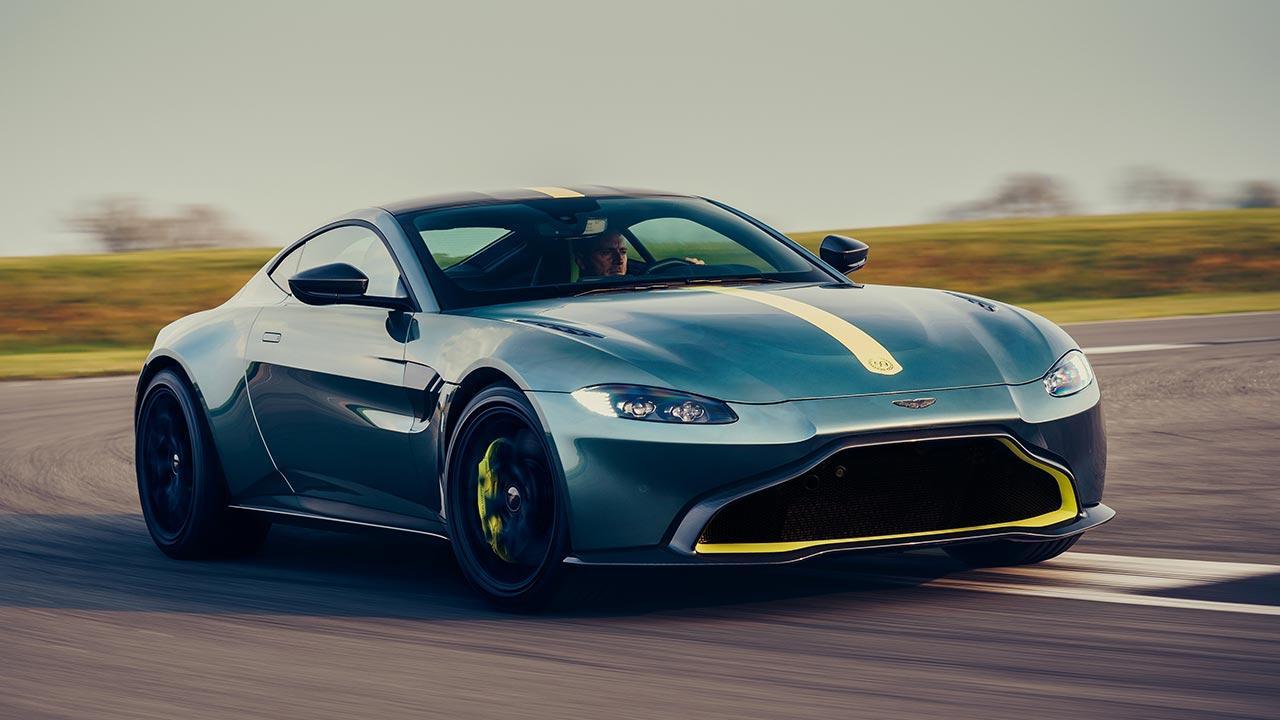 Aston Martin Vantage AMR - in voller Fahrt