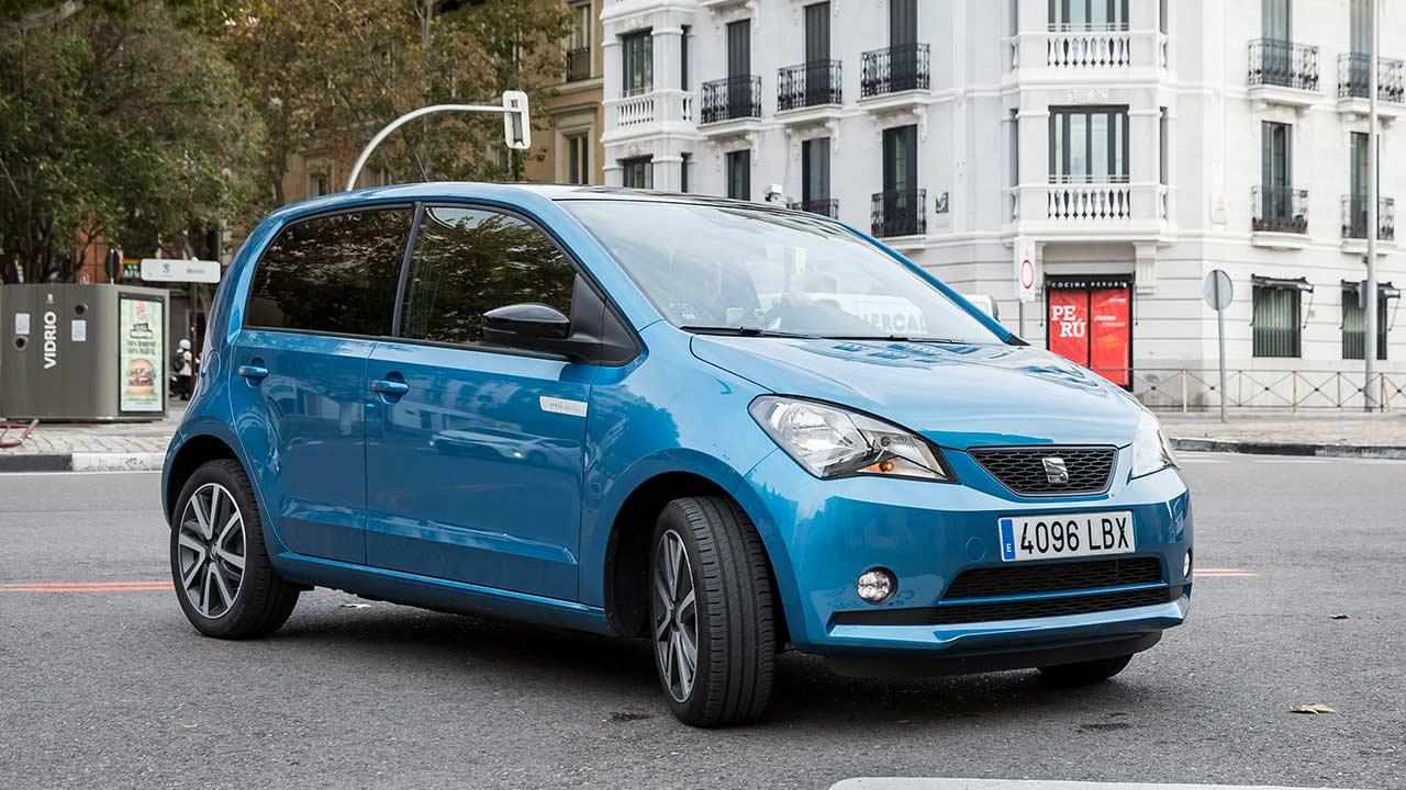 SEAT Mii electric - in der Stadt