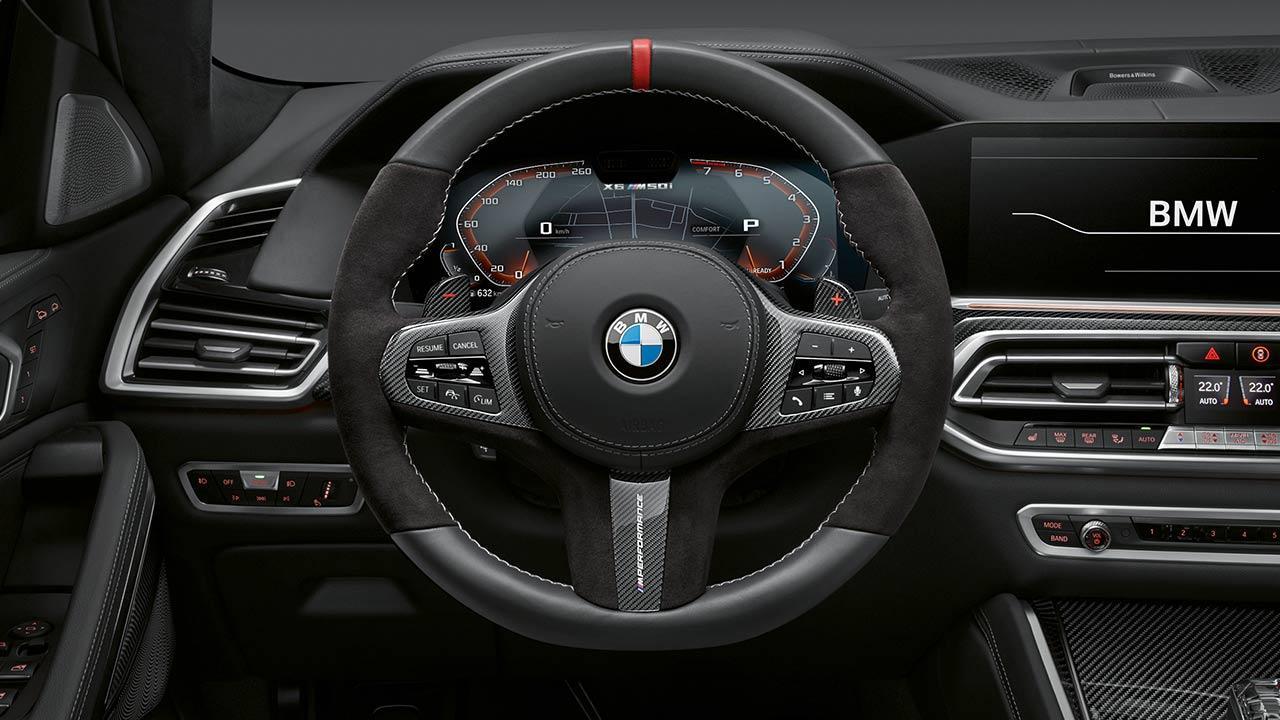BMW X6 M Competition - Cockpit