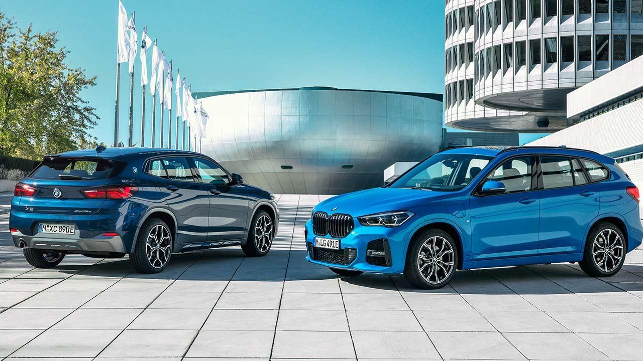 BMW X1 xDrive25e -  zwei Farben