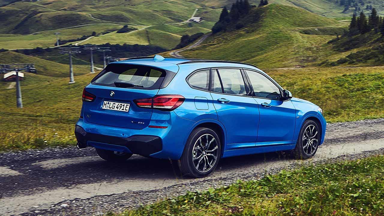 BMW X1 xDrive25e - Heckansicht