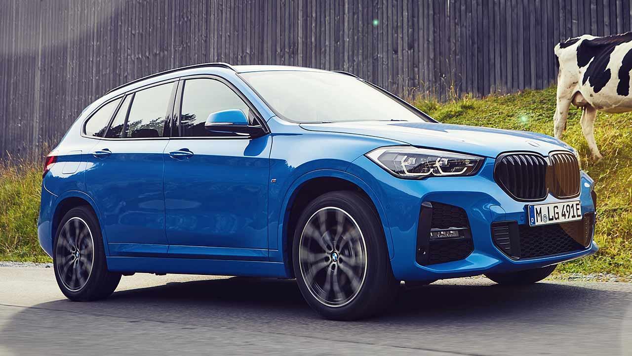 BMW X1 xDrive25e - Seitenansicht