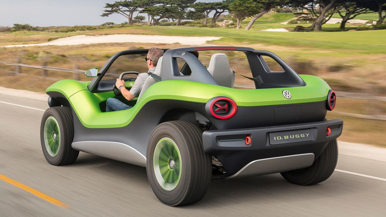 Volkswagen ID Buggy - Heckansicht