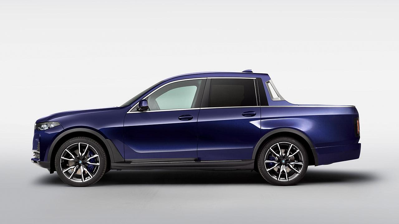 BMW X7 Pick-up Einzelstück - Seitenansicht
