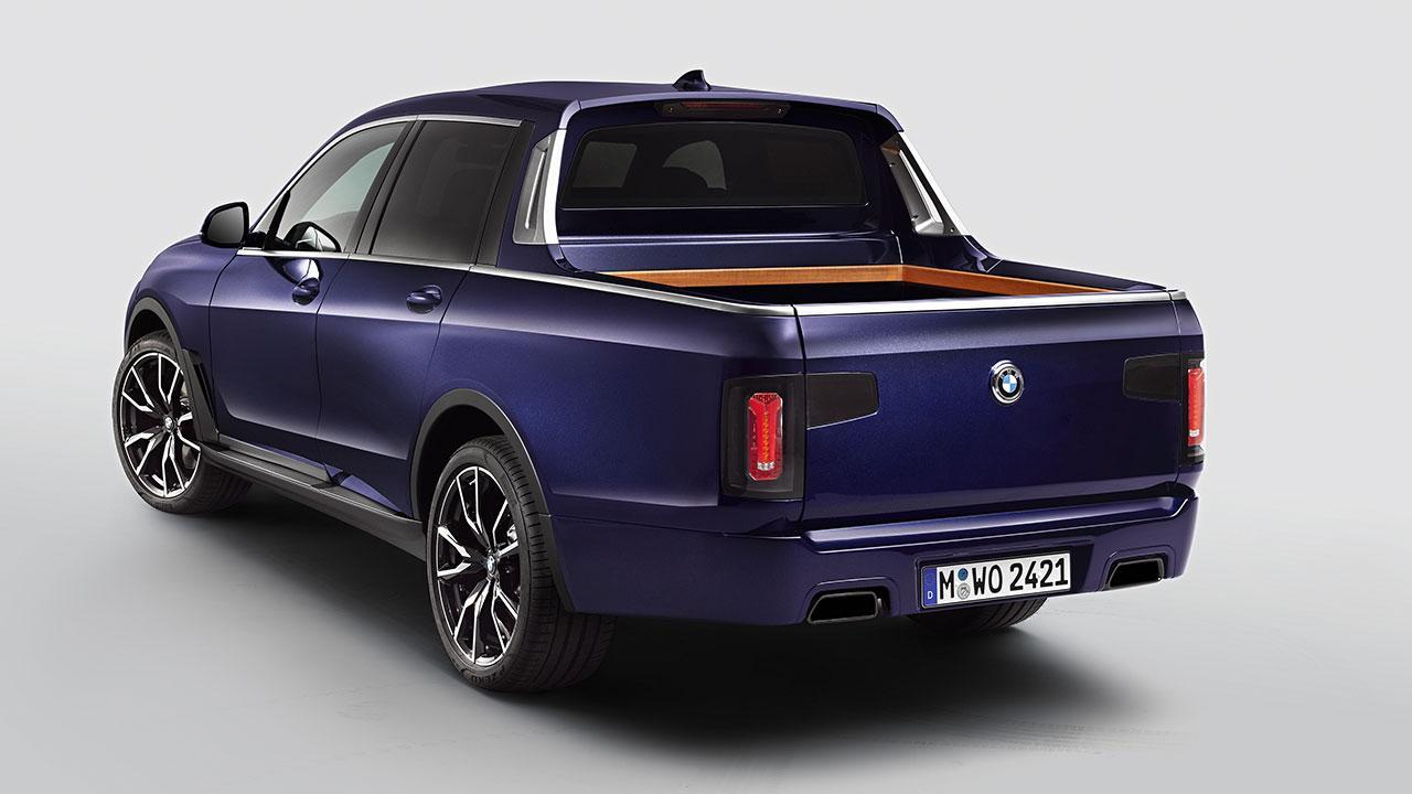 BMW X7 Pick-up Einzelstück - mit geschlossener Heckklappe
