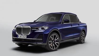 BMW X7 Pick-up Einzelstück - Frontansicht