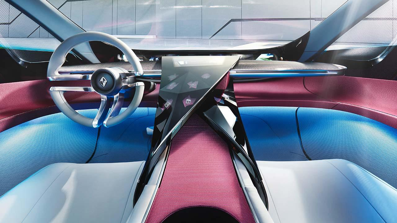 Borgward ISABELLA Concept - Cockpit